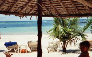 Kenia-Strand Meer