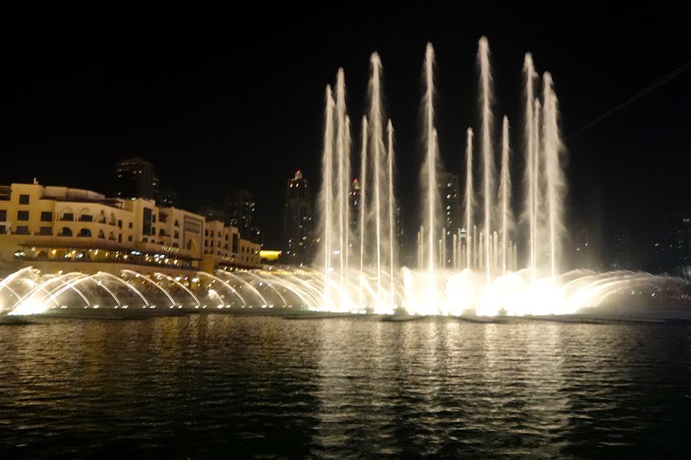 Dubai Fontänen 3